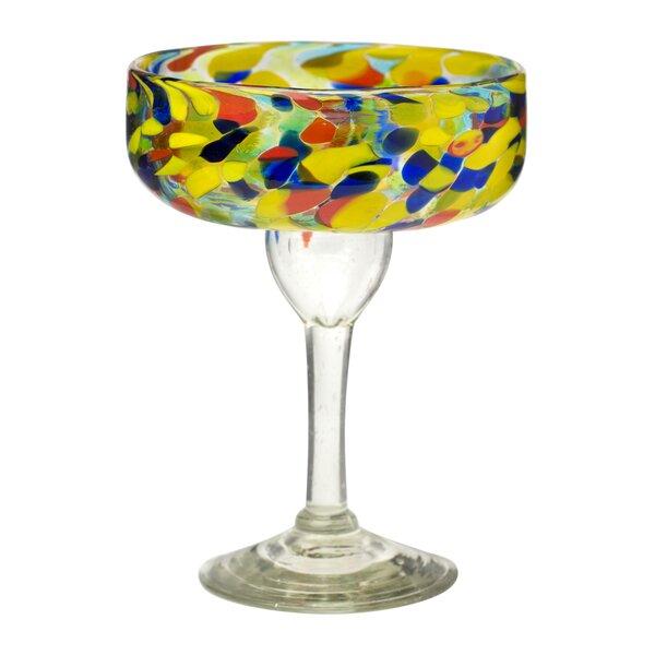 Hermanson Margarita Drinking 15 oz. Glass Liqueur Glass (Set of 4) by Latitude Run