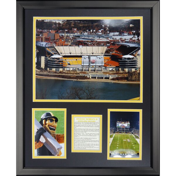 NFL Pittsburgh Steelers - Heinz Field Framed Memorabili by Legends Never Die