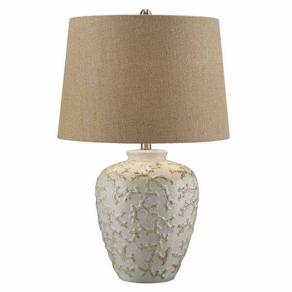 Livadia Sand Coral 25.5 Table Lamp by Bay Isle Home