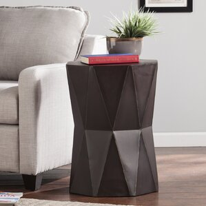 Bartholdi End Table by Mercury Row