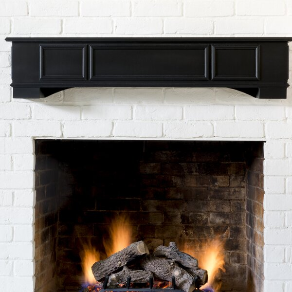 Cambridge Fireplace Shelf Mantel by Ornamental Designs