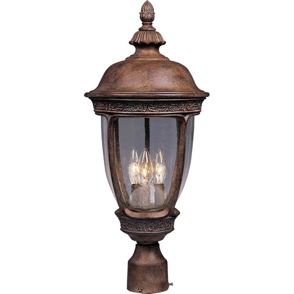 Rabana Outdoor 3-Light Lantern Head by Beachcrest Home