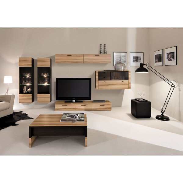 Harkless Wall Unit Entertainment Center (Set of 2) by Orren Ellis