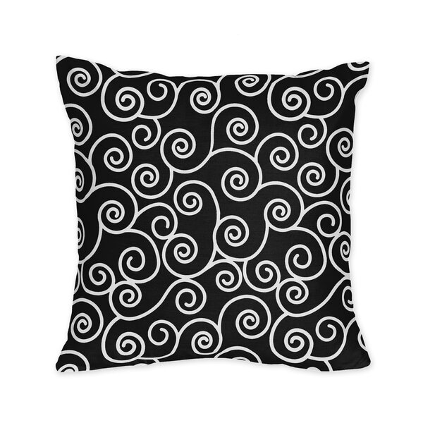 Kaylee Cotton Throw Pillow by Sweet Jojo Designs