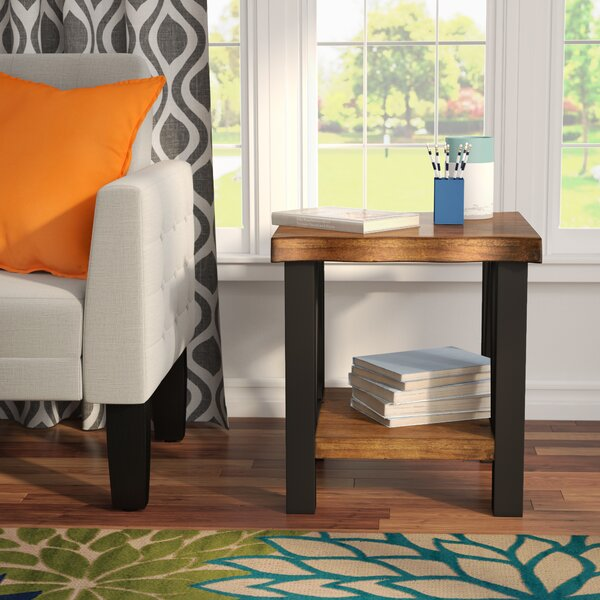 Northam End Table by Three Posts