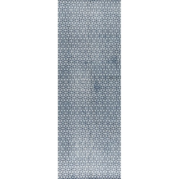 Norman Hand-Woven Blue/Gray Area Rug by M.A. Trading
