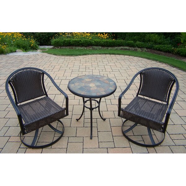 Stone Art Tuscany 3 Piece Bistro Set by Oakland Living