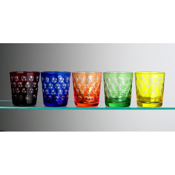 Melrose Rock Glass (Set of 6) by IMPULSE!