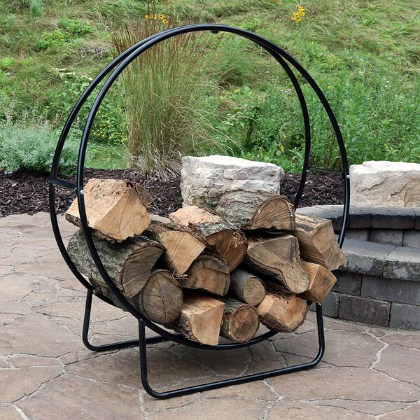 Log Rack by SunnyDaze Decor