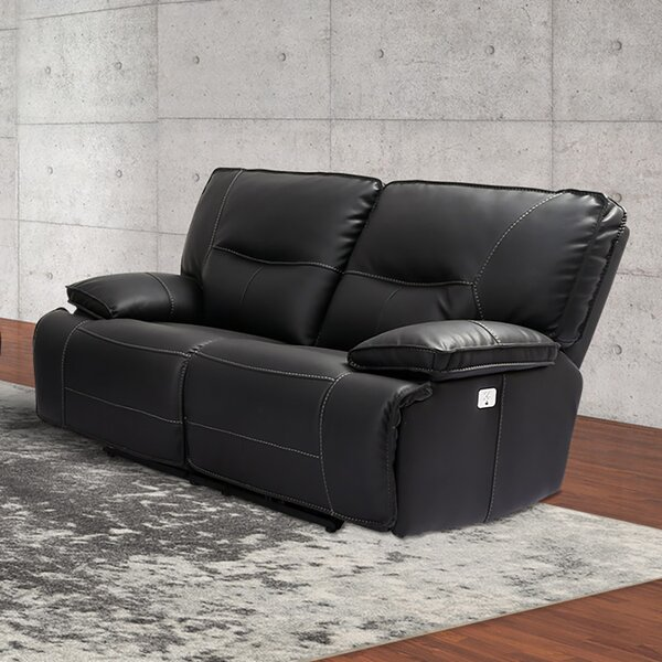 Kiro Reclining Loveseat By Winston Porter