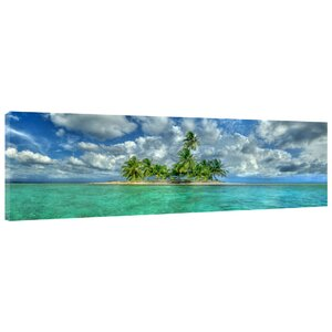 'Paradise Island' Photographic Print on Wrapped Canvas by Latitude Run