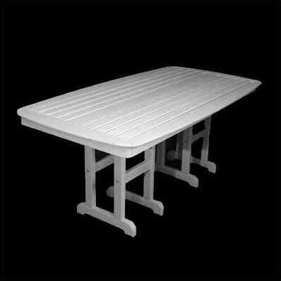 Nautical Plastic Dining Table by POLYWOOD®