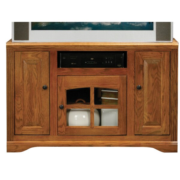 Dash Solid Wood TV Stand For TVs Up To 50
