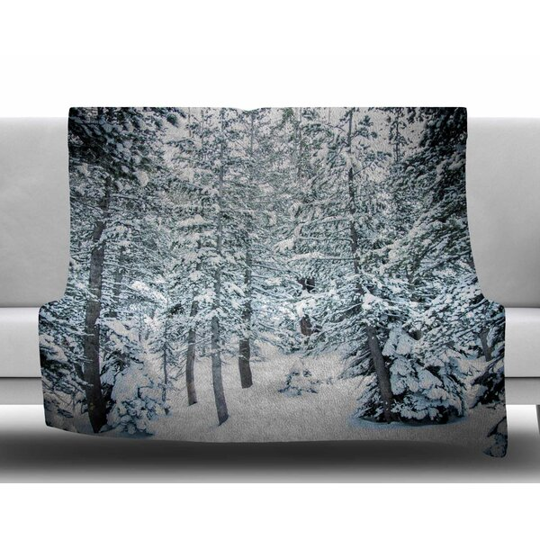 Winter Trials by Juan Paolo Fleece Blanket by East Urban Home