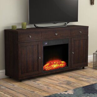 Chimayo TV Stand for TVs up to 60 with Fireplace