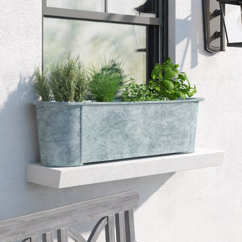 Hallwood Fibreglass Window Box Planter Williston Forge