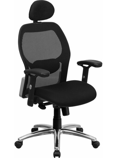 Krout High-Back Mesh Executive Chair by Symple Stuff