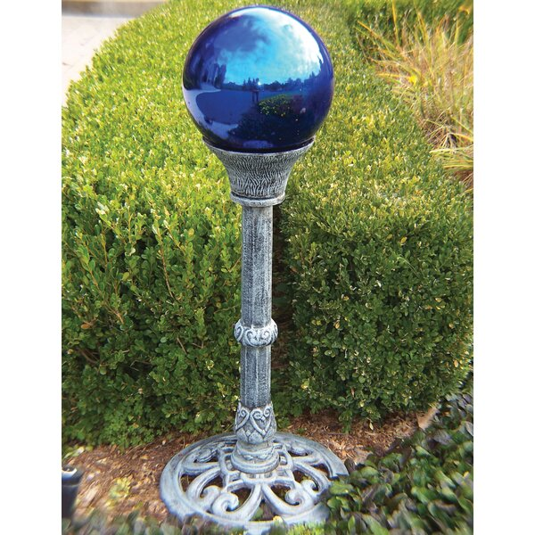 Gazing Globe with Pedestal Stand by Oakland Living