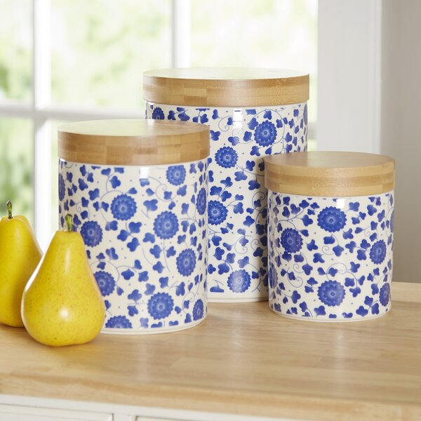 Wilshire 3 Piece Kitchen Canister Set by Birch Lane™