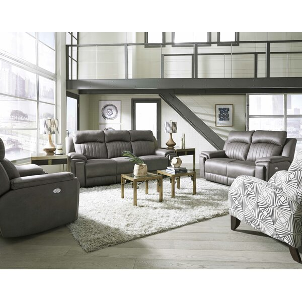 In Style Reclining Sofa by Southern Motion by Southern Motion
