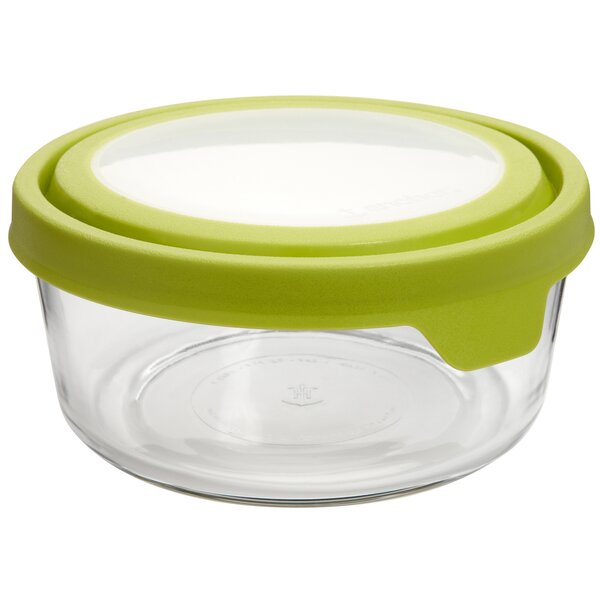 Round True Seal 56 Oz. Food Storage Container (Set of 4) by Anchor Hocking