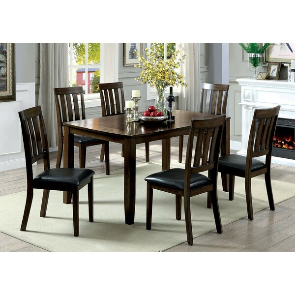 Healdton 7 Piece Extendable Dining Set by Fleur De Lis Living