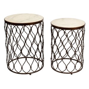 Kenilworth 2 Piece End Table Set by Mercer41