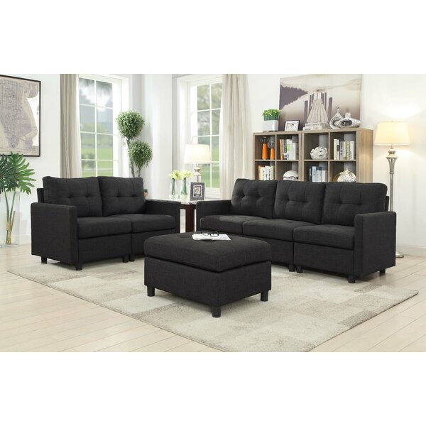 Wetherby 3 Piece Living Room Set by Ebern Designs