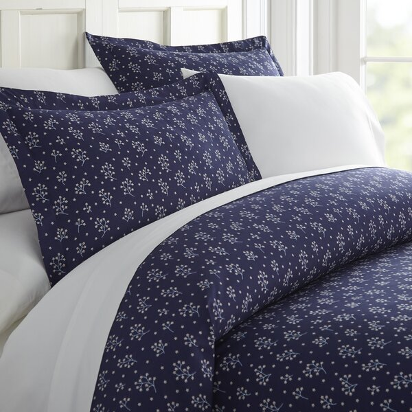 Adona Blossoms Duvet Cover Set by Charlton Home