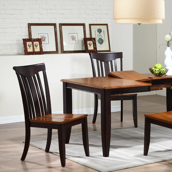 Modern Solid Wood Dining Chair (Set of 2) by Iconic Furniture
