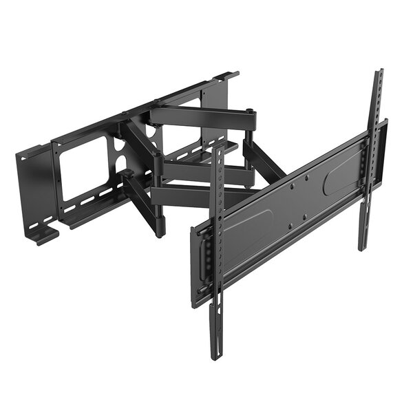 Manual Cantilever Double Stud Tilt Wall Mount for 56- 90 Flat Panel Screens by Level Mount