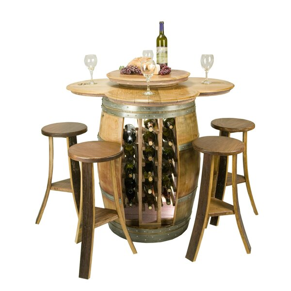 Wine Barrel 5 Piece Dining Set by Napa East Collection