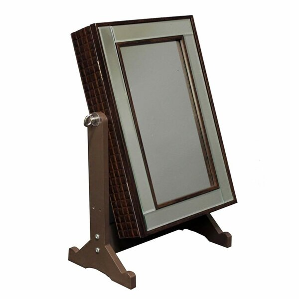 Quitman Jewelry Armoire with Mirror by Red Barrel Studio