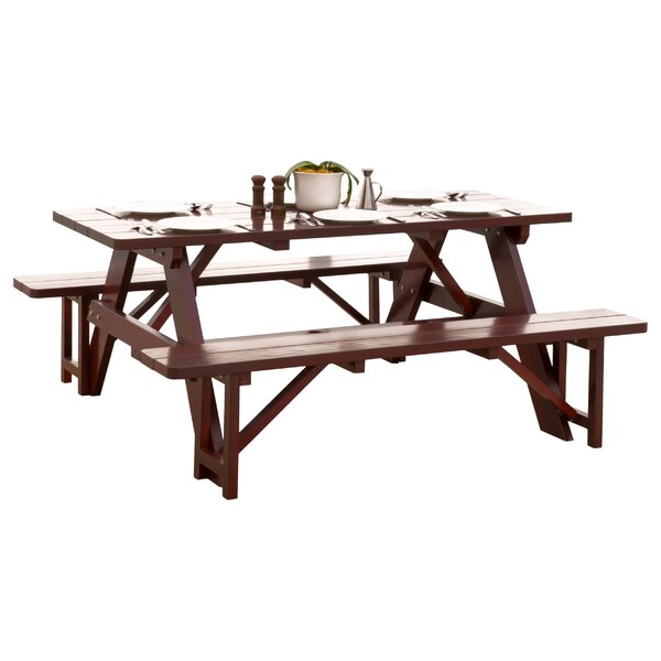 Cinnabar Picnic Table Set by Home Loft Concepts