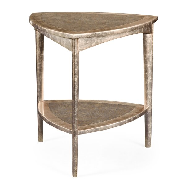 Triangular End Table by Jonathan Charles Fine Furniture