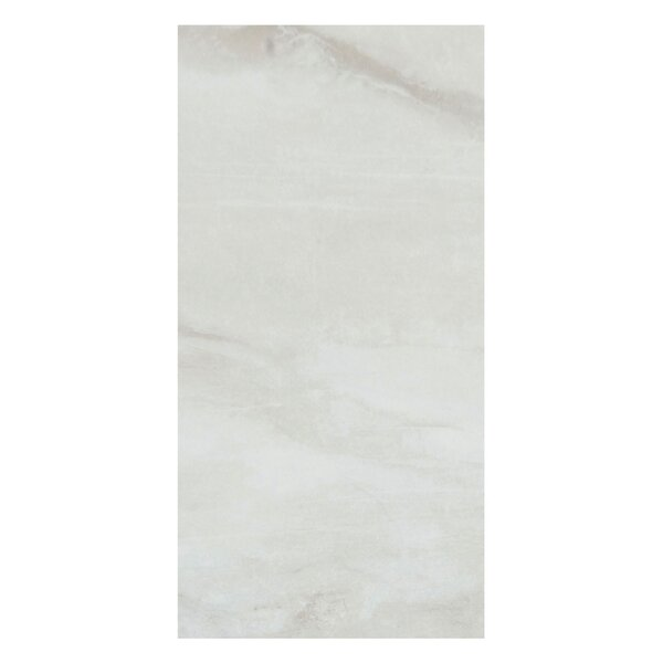 Pearl 12 x 24 Porcelain Field Tile in Silver by Casa Classica