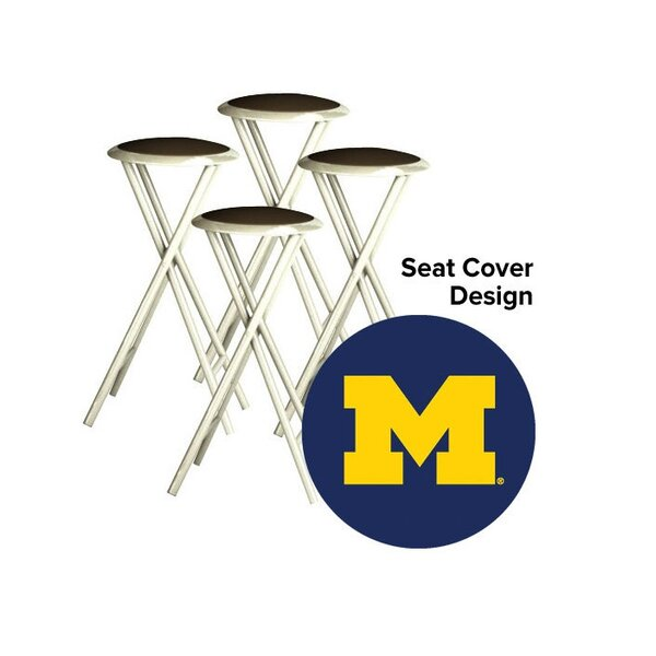 Collegiate 30 Bar Stool (Set of 4) by Best of Times