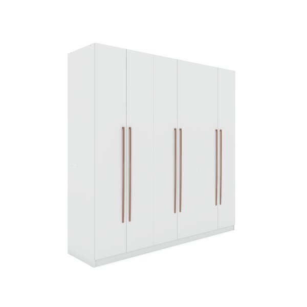 Dishon Freestanding Wardrobe Armoire By Brayden Studio by Brayden Studio Bargain