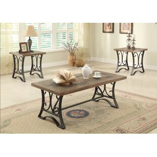 Compare prices Tillman Coffee and End Table Set (Set of 3) By Charlton Home
