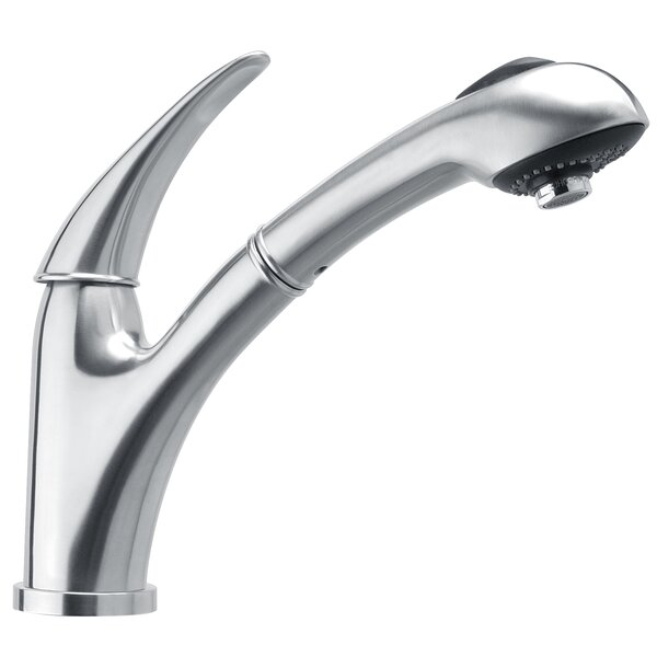 Waterhaus Pull Out Single Handl Kitchen Faucet by Whitehaus Collection