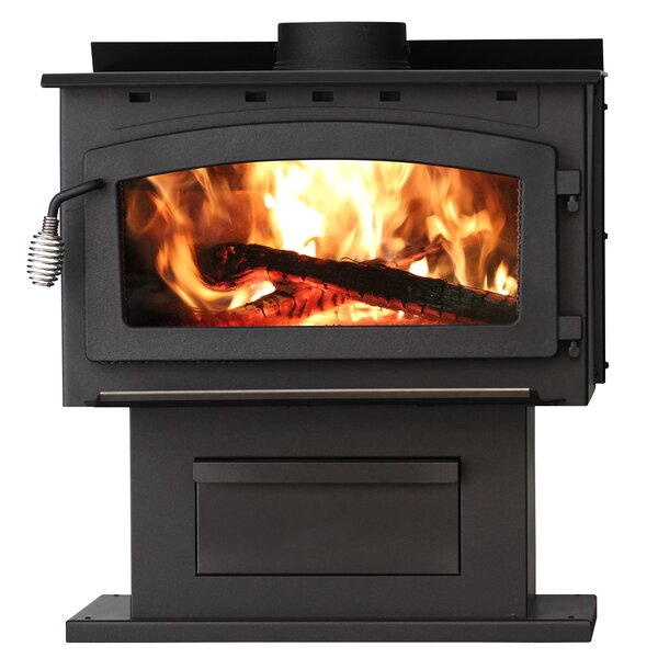 King 2,000 sq. ft. Direct Vent Wood Stove by United States Stove Company