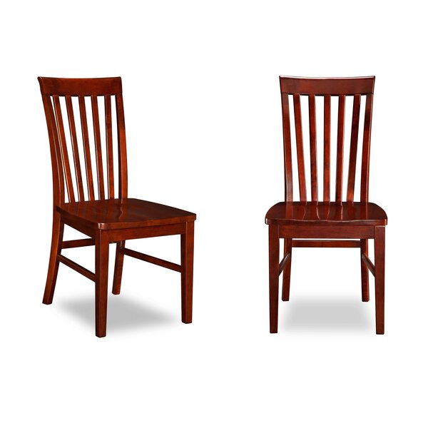 Astoria Solid Wood Dining Chair (Set of 2) by Alcott Hill