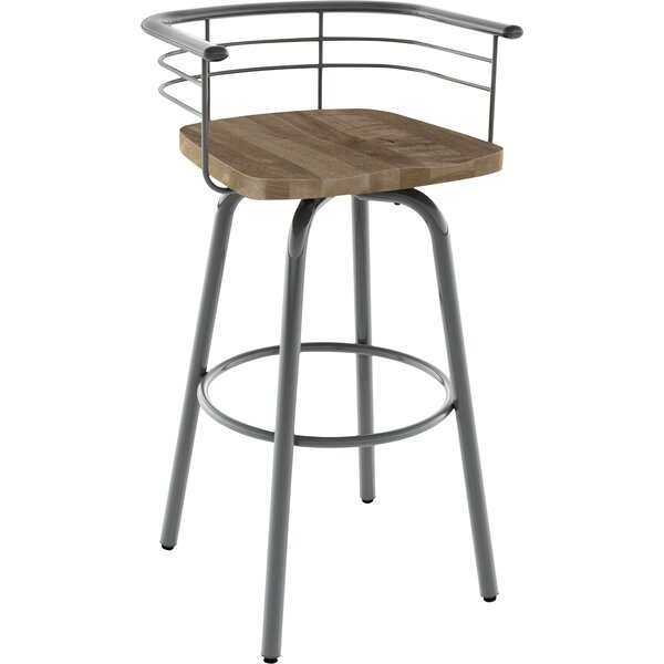 Tungsten 29 Swivel Bar Stool by Trent Austin Design