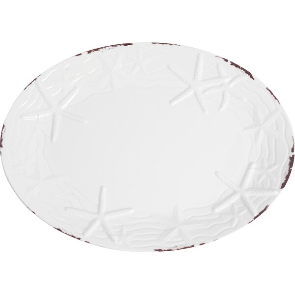 Winterton Melamine Platter by Beachcrest Home