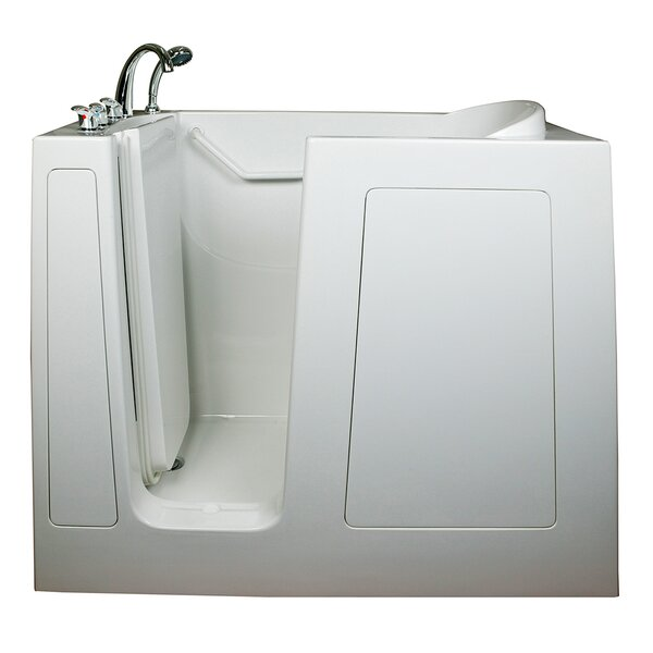Deep High Hydrotherapy Massage Whirlpool Walk-In Tub by Ella Walk In Baths