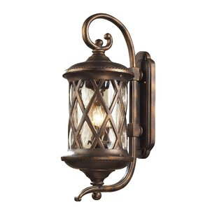 Great choice Whittington 3-Light Outdoor Wall Lantern By Fleur De Lis Living