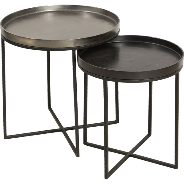 Eben 2 Piece Nesting Tables by 17 Stories
