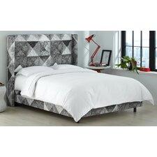 Sumpter Upholstered Panel Bed by Brayden Studio