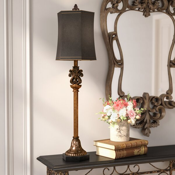 Aghalislone 33 Buffet Lamp by Astoria Grand