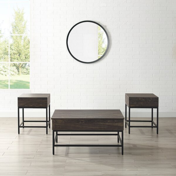 Whitted 3 Piece Coffee Table Set by 17 Stories 17 Stories